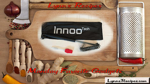 Monday Favorite Gadget - Innoo Tech BBQ Grill Brush