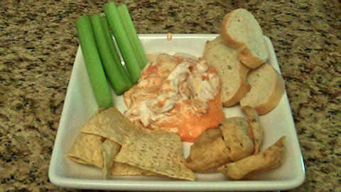 Buffalo Chicken & Blue Cheese Dip