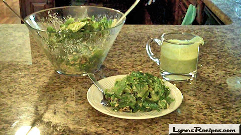 Cilantro-Lime Dressing