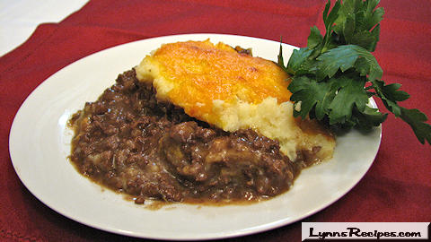 Cottage Pie/Shepherd's Pie