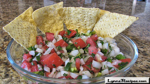 Lynn's Recipes Cooking Tip # 06 --  Pico de Gallo