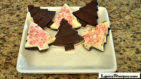 Peppermint Bark Trees