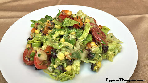 Southwest Cilantro Lime Salad