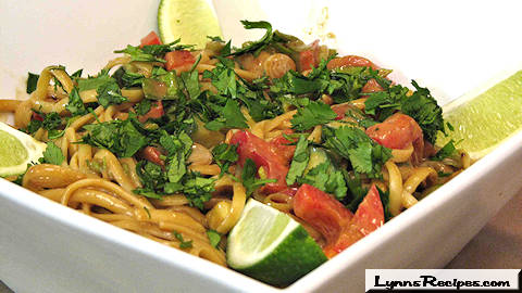 Spicy Peanut Noodles