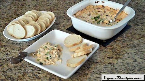 Superbowl Warm & Creamy Bacon Dip
