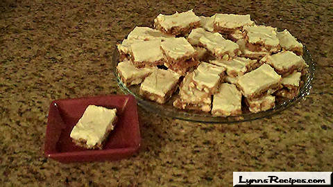 White Chocolate Chip Cookie Bars