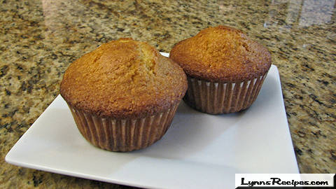 White Chocolate & Orange Muffins