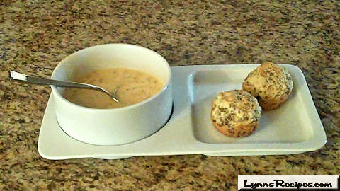 Wild Rice and Cheddar Cheese Soup